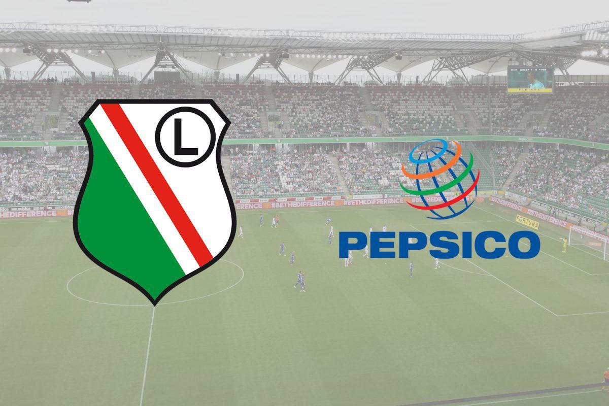 PepsiCo na dłużej partnerem strategicznym Legii Warszawa