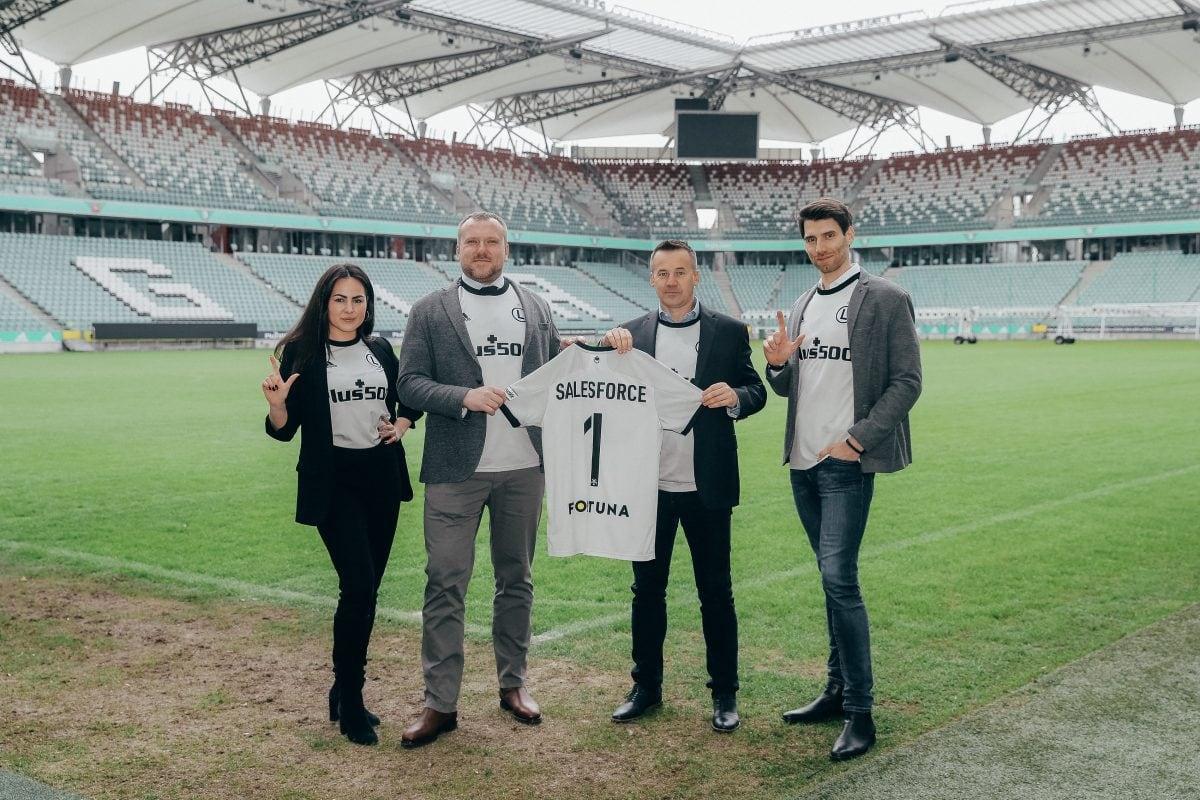 Salesforce nowym partnerem technologicznym Legii Warszawa