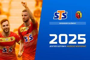 STS przedłużył o cztery lata umowę sponsorską z Jagiellonią Białystok